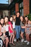 Joey Essex poses with fans