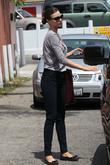Miranda Kerr is picked up by her husband...
