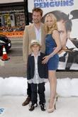 Anne Heche, family  Premiere 'Mr. Popper's Penguins'...