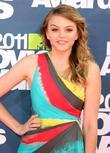 Aimee Teegarden 2011 MTV Movie Awards at the...