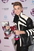 Justin Bieber and Mtv European Music Awards