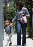 Halle Berry's daughter Nahla Aubry is seen leaving...