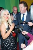Christina Aguilera and Piers Morgan