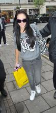 Tulisa Contostavlos of N Dubz outside the BBC...
