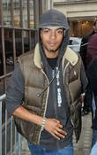 Fazer aka Richard Rawson of N Dubz outside...