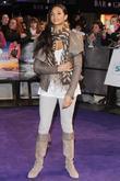 Alesha Dixon  'Never Say Never' film premiere...