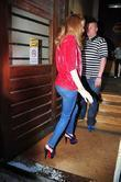 Nicola Roberts arrives at Juice FM ahead of...