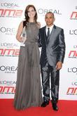 Mandy Moore and Lewis Hamilton