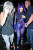 Jessie J aka Jessica Cornish leaving Sketch nightclub...