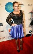 Adrienne Bailon Style 360 New York Fashion Week...
