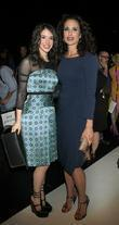 Andie Macdowell and New York Fashion Week