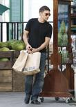 Olivier Martinez leaves Bristol Farms in Beverly Hills...