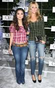 Brenda Song and Aly Michalka