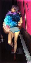 Sophia Lamar and Hiro Ballroom