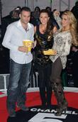 Dane Bowers, Katie Price, Michelle Heaton and Elstree Studio