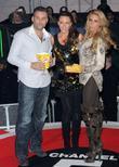 Dane Bowers, Katie Price, Michelle Heaton, Elstree Studio