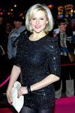 Abi Titmuss,  at the press night for...
