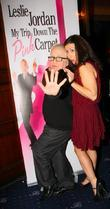 Leslie Jordan, Hayley Tamaddon Press night for 'My...