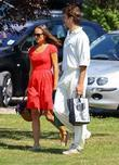 Pippa Middleton  watches her boyfriend Alex Loudon...