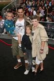 Adrian Pasdar with Natalie Maines and family 'Pirates...