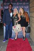 Ben Ofoedu; Vanessa Feltz and daughter ,...