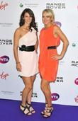 Tsvetana Pironkova; Elena Vesnina Pre-Wimbledon Party held at...