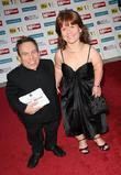 Warwick Davies with his wife