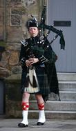 Bagpipes, Prince William and Kate Middleton