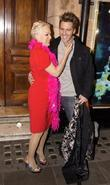 Denise Welch  Attending Performance Of Priscilla Queen...