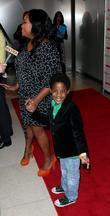 Sherri Shepherd and son Jeffery Tarpley Redbook's special...