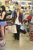 Celebrity fashion stylist Rachel Zoe goes shopping on...
