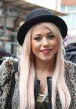 Amelia Lily at the BBC Radio 1 studios...