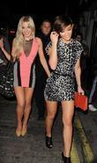 Frankie Sandford and Mollie King
