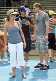 Julie Benz and Eric Winter
