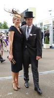 Gabby Logan, Kenny Logan Royal Ascot at Ascot...