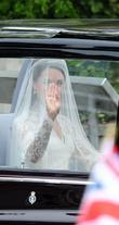 Catherine Middleton Arriving