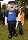 Sarah Bolger and Mascot  Actress Sarah Bolger...