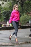 Sarah Jessica Parker out walking in Soho wearing...