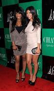 Malika Haqq and Kourtney Kardashian