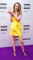 Caitlin Jamieson, winner of Scotland's New Face award,...