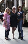 Sally Lindsay, Carol Vorderman, Denise Welch, Scott's Restaurant