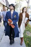 Sean Lennon and his girlfriend Charlotte Kemp Muhl...