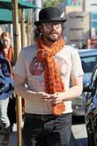 Sean Lennon and his girlfriend shopping at Urth...