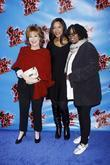 Joy Behar, Grace Hightower and Whoopi Goldberg