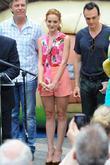 Jayma Mays and Hank Azaria