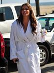 Sofia Vergara from 'Modern Family'  Filming a...