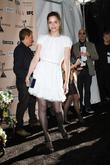Amanda Peet The 2011 Film Independent Spirit awards...