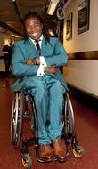 Ade Adepitan,  at the Spirit Of London...