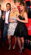 Josh Strickland, Holly Madison and Laura Croft