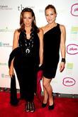 Donna Karan and Maria Bello